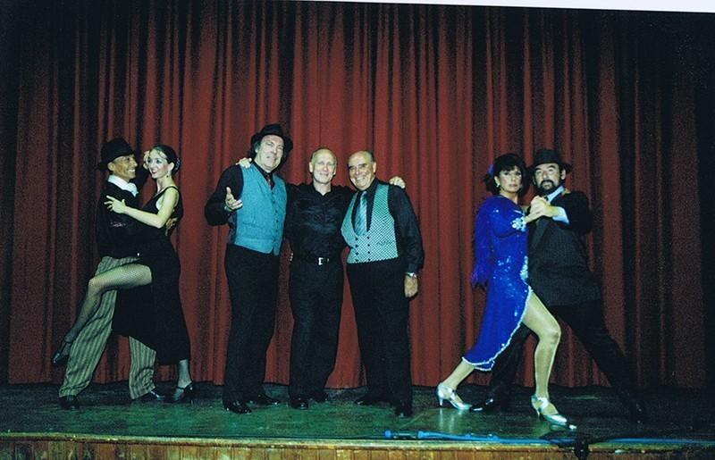 "Representación del espectáculo ""Tango Vals Tango"" V"