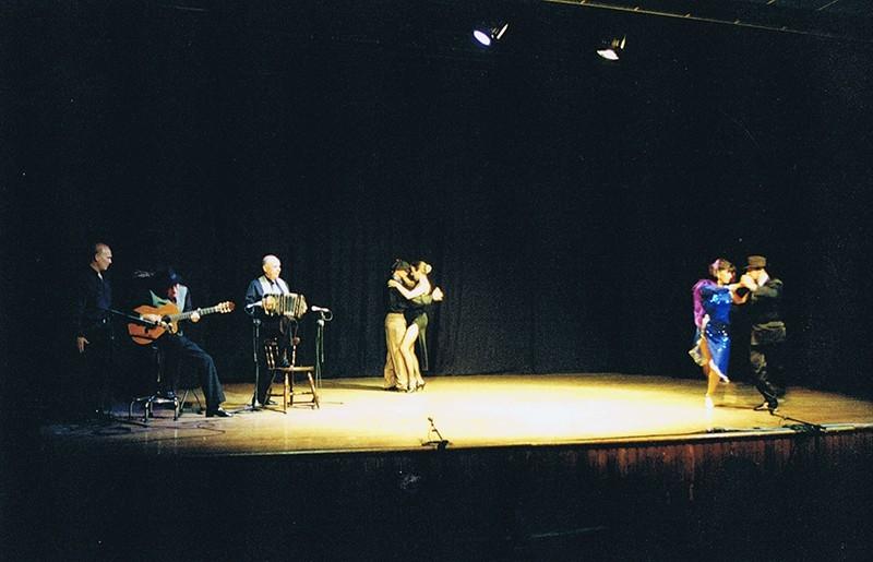 "Representación del espectáculo ""Tango Vals Tango"" IV"