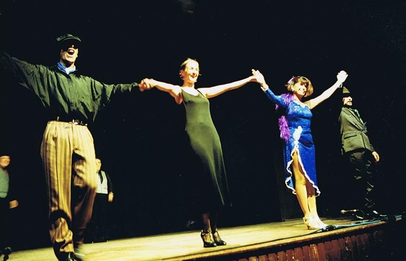 "Representación del espectáculo ""Tango Vals Tango"" I"
