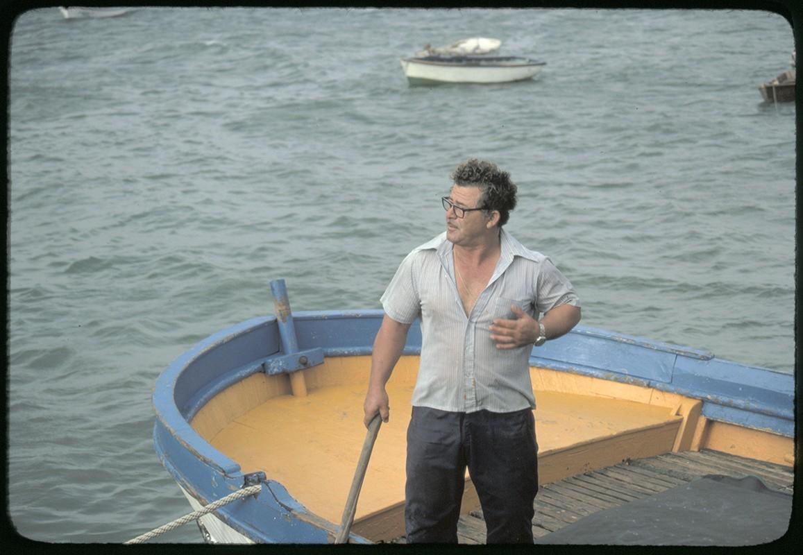 Barco en La Graciosa III