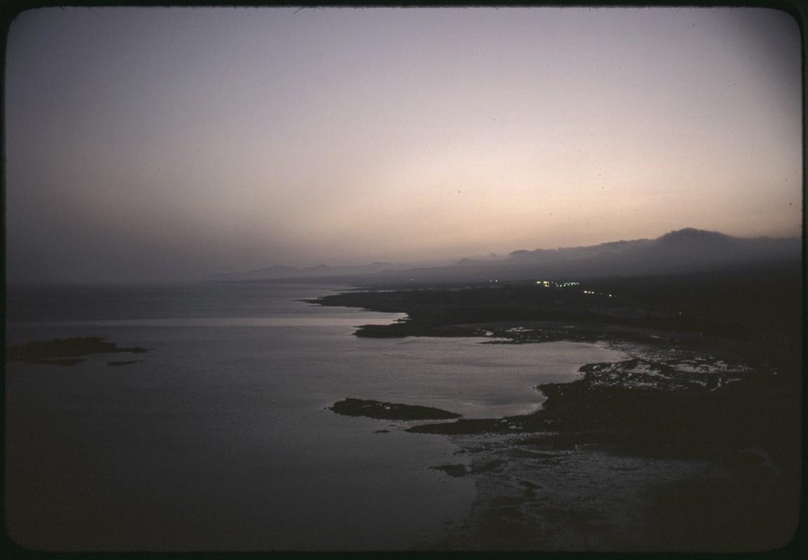 Playa de El Reducto y la bufona