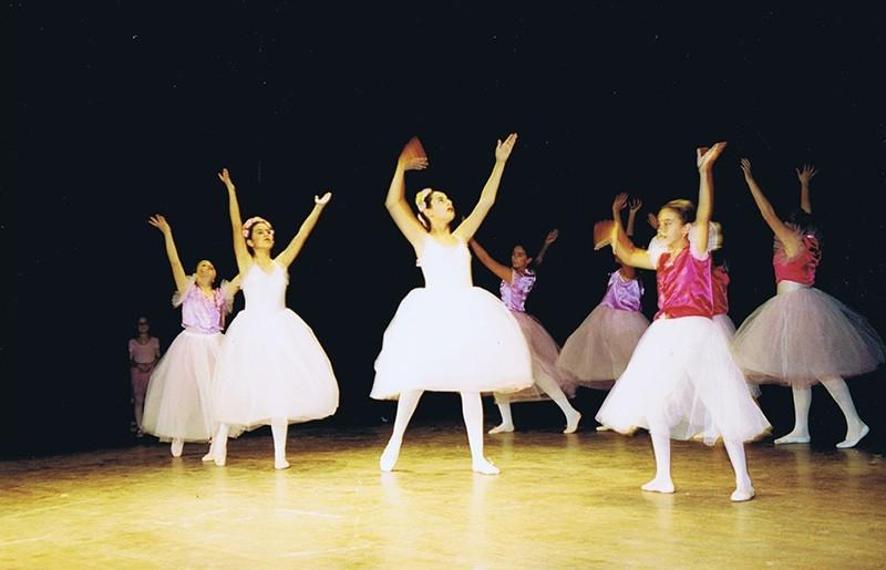 Escuela de Ballet del Colegio Tías VII