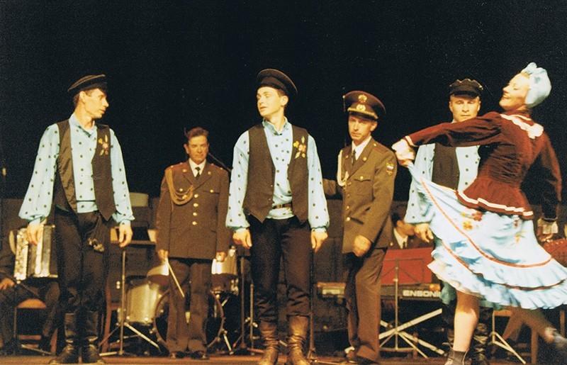 Los Coros y Danzas del Ejército Ruso XVII