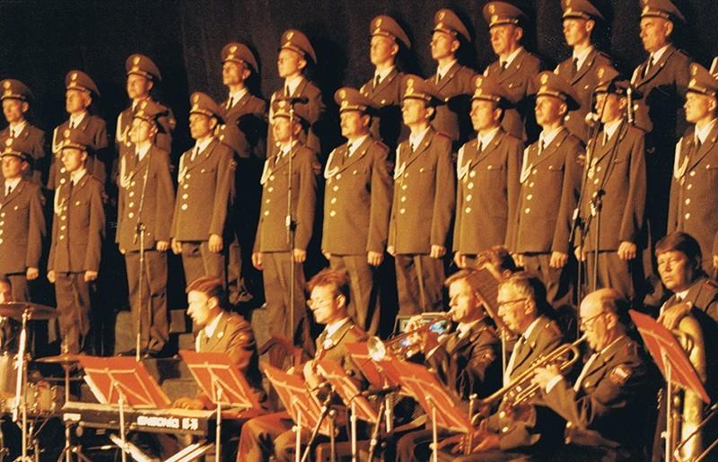 Los Coros y Danzas del Ejército Ruso XIX