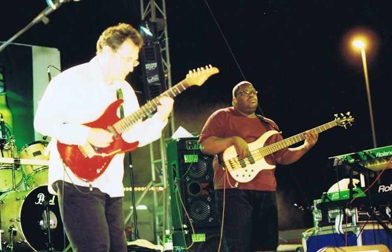 "Grupo ""Chuck Loeb Band"" y ""Carlos Sánchez""  I"