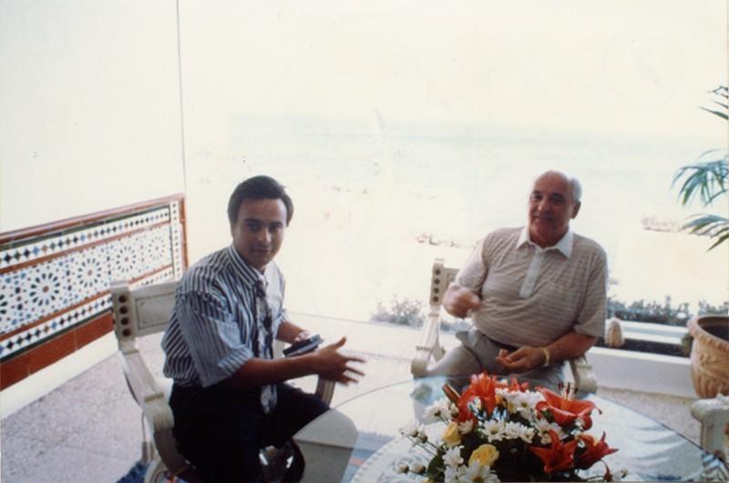 Entrevista a Gorbachov