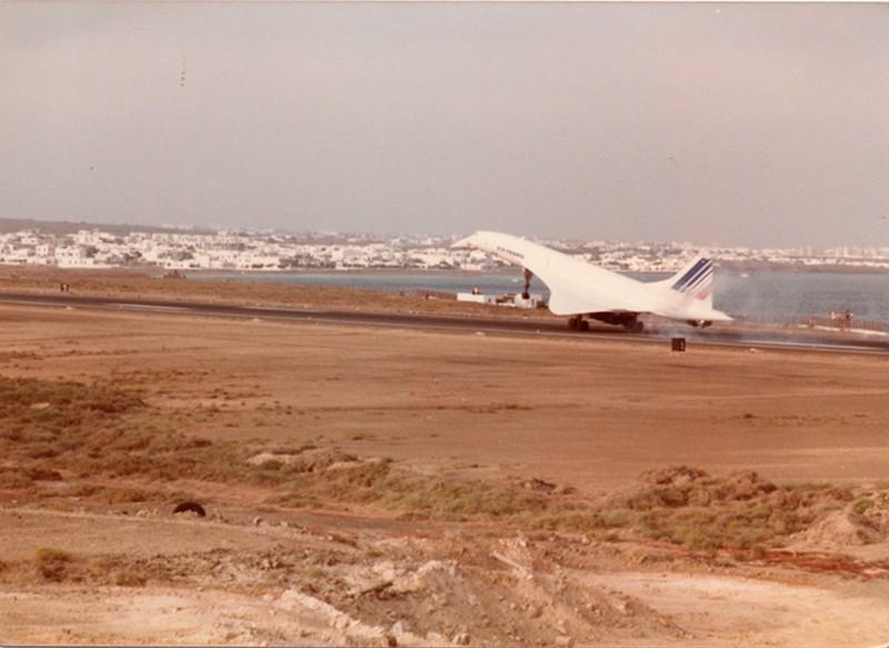 Aterrizaje del Concorde III