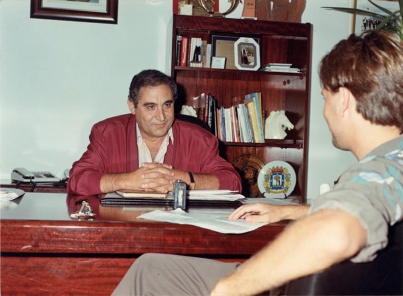 Entrevista a Dimas Martín
