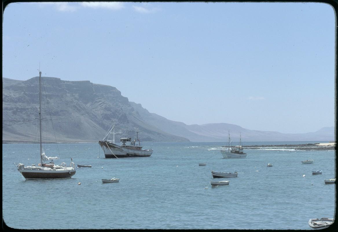 Barcos de La Graciosa V