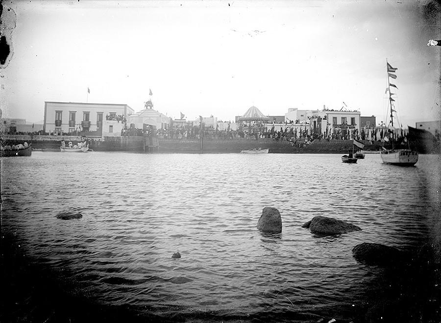 Visita de Alfonso XIII