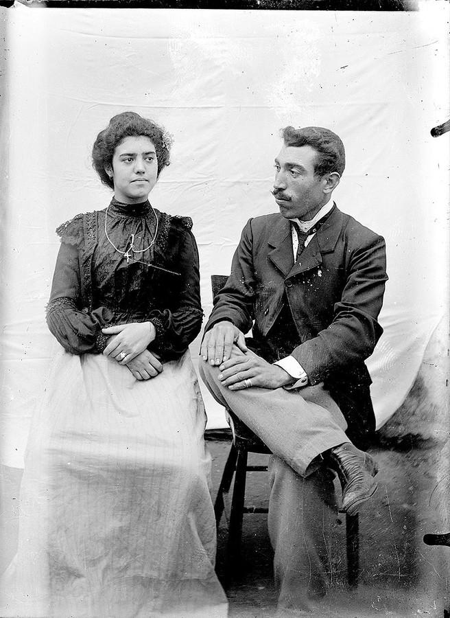 Jacinto Alonso y Antonia Lemes