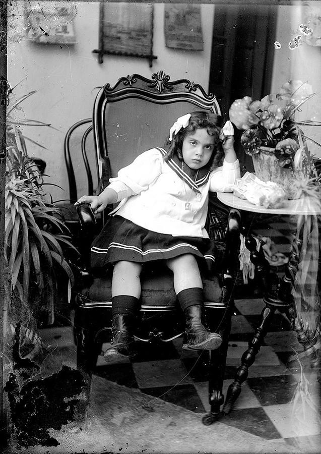 Retrato de niña I