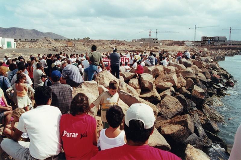 Protestas en Berrugo IV