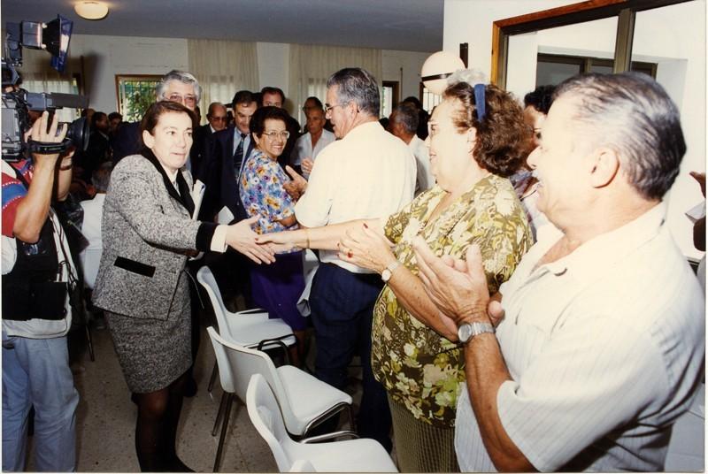 Visita de Cristina Alberdi IX
