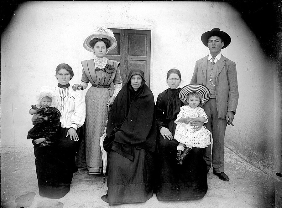 Familia de Luisa Pérez