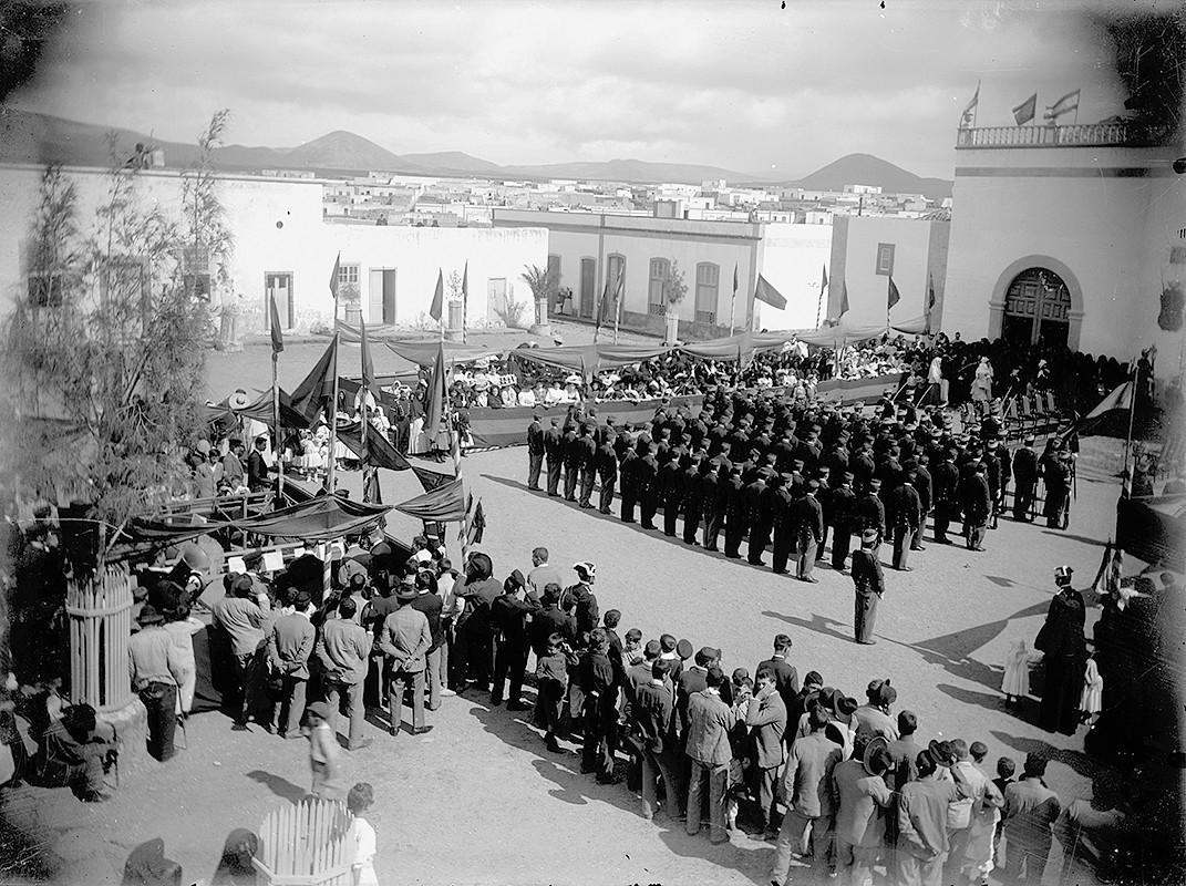 Jura de bandera en San Ginés II