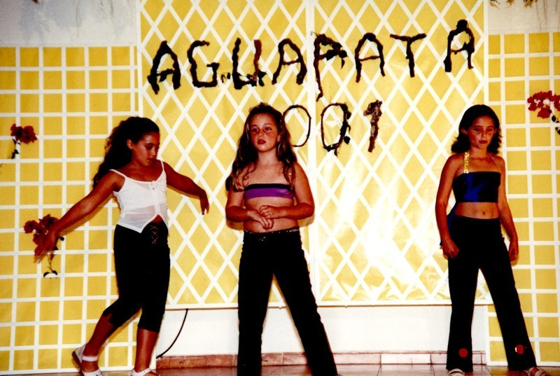 """Las fiestas """"Aguapata 2001"""" I"""