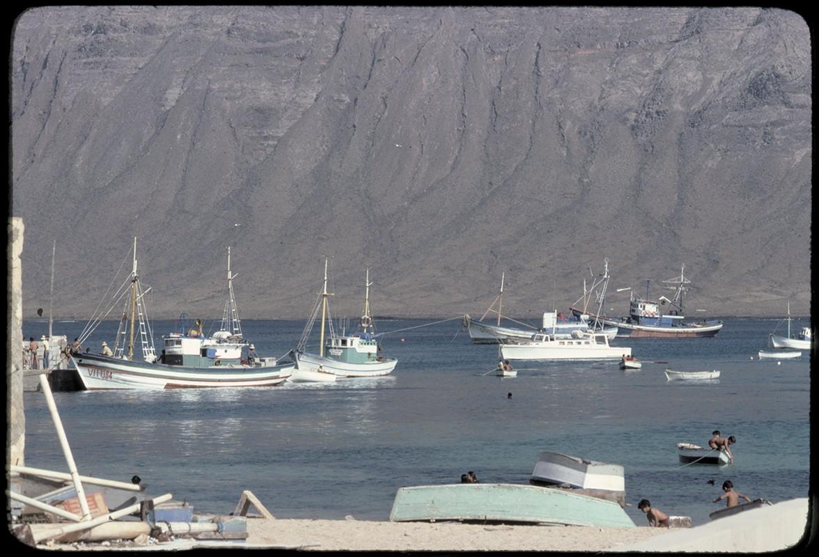 Barcos en La Graciosa IX