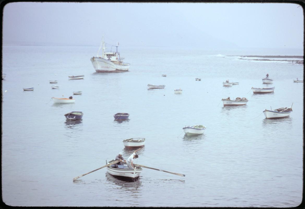 Barcos en La Graciosa X