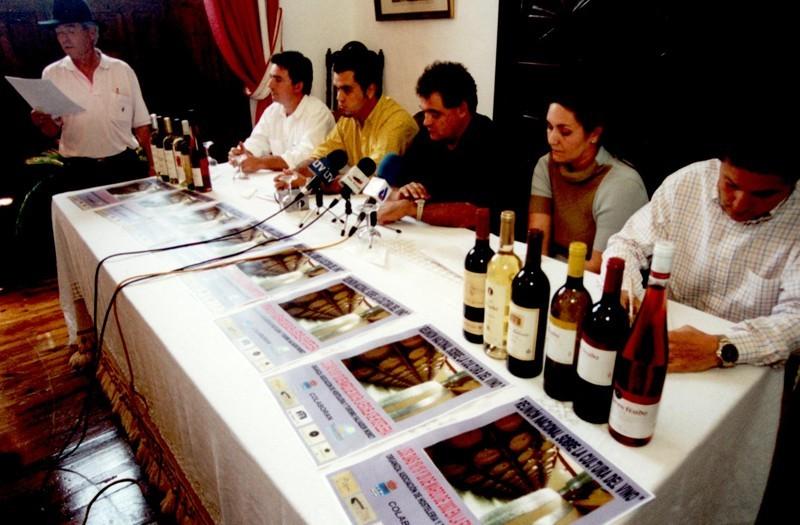 Reunión Nacional sobre la Cultura del Vino I
