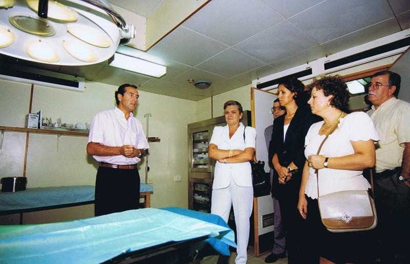 """Buque Hospital """"Esperanza del Mar"""" I"""