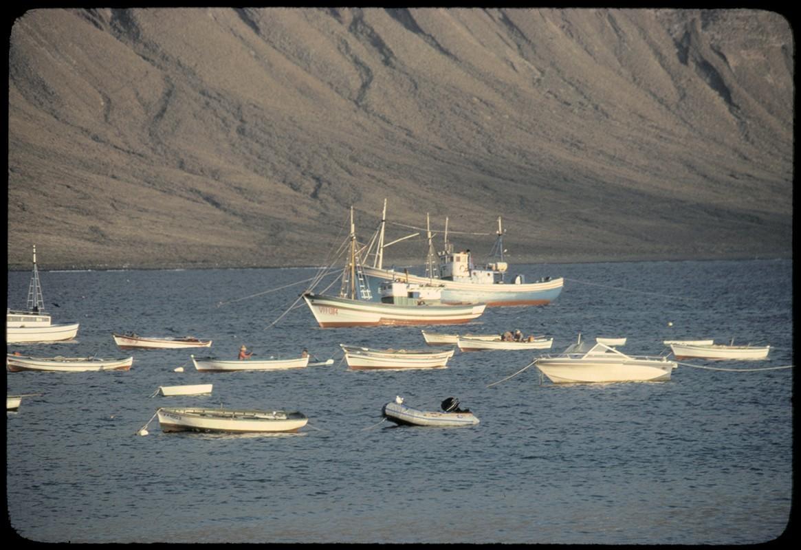 Barcos en La Graciosa XI