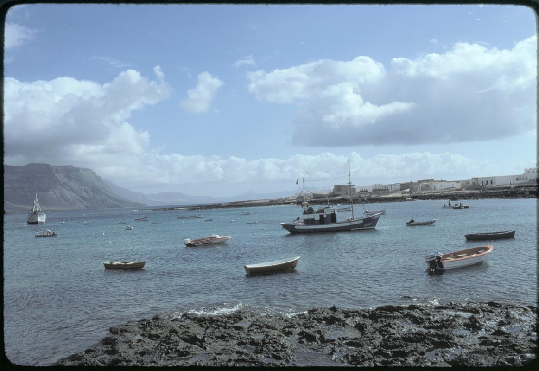 Barcos en La Graciosa XV