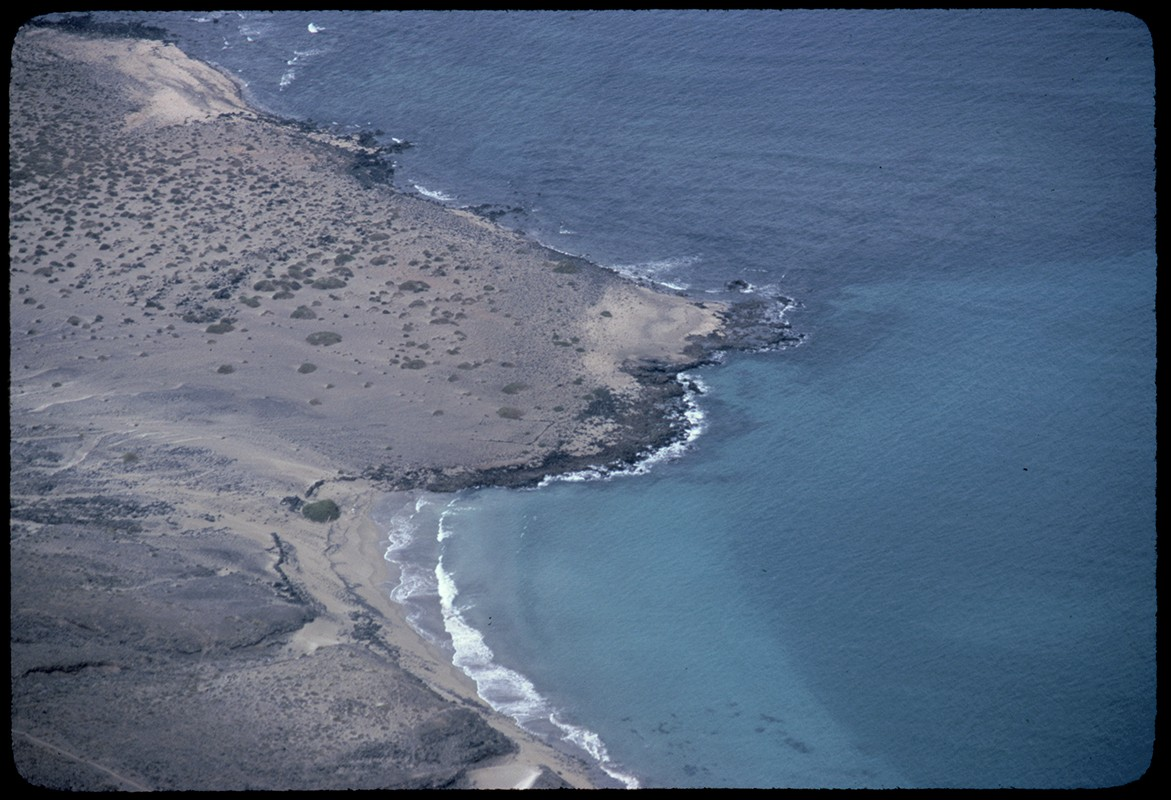 Playa debajo de El Risco