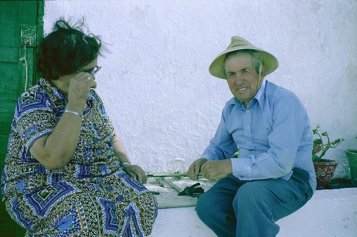 Jorge Toledo y doña Nieves V