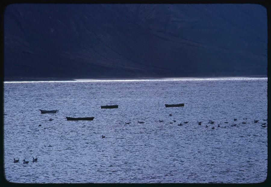 Barcos en La Graciosa XVI