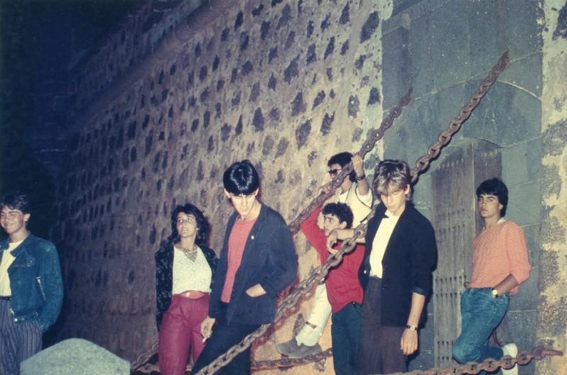 Sesión fotográfica de Maraballas Band III