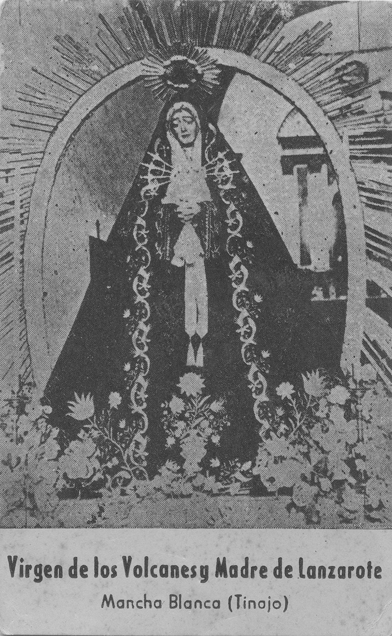 Estampa de la Virgen de Dolores I