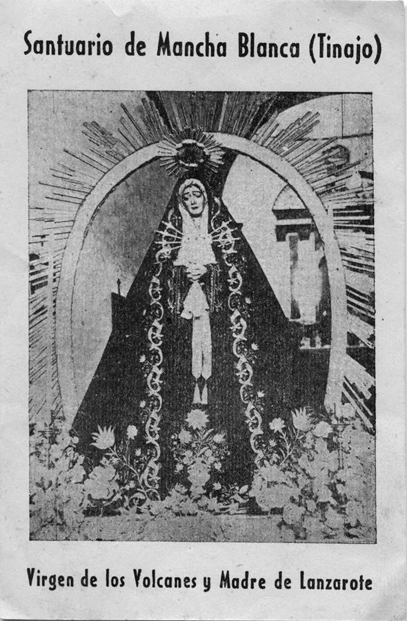 Estampa de la Virgen de Dolores II