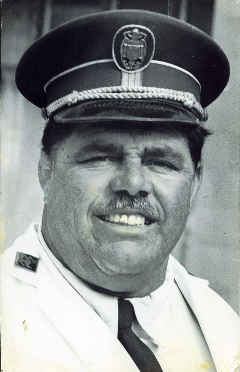 Retrato de Heraclio Niz como policía I