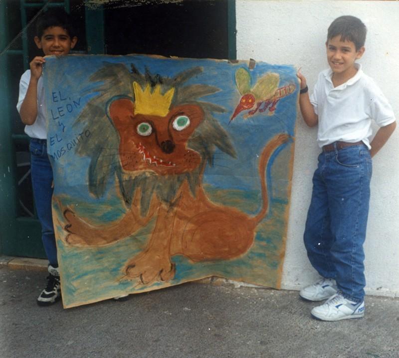 Representación teatral en la escuela III
