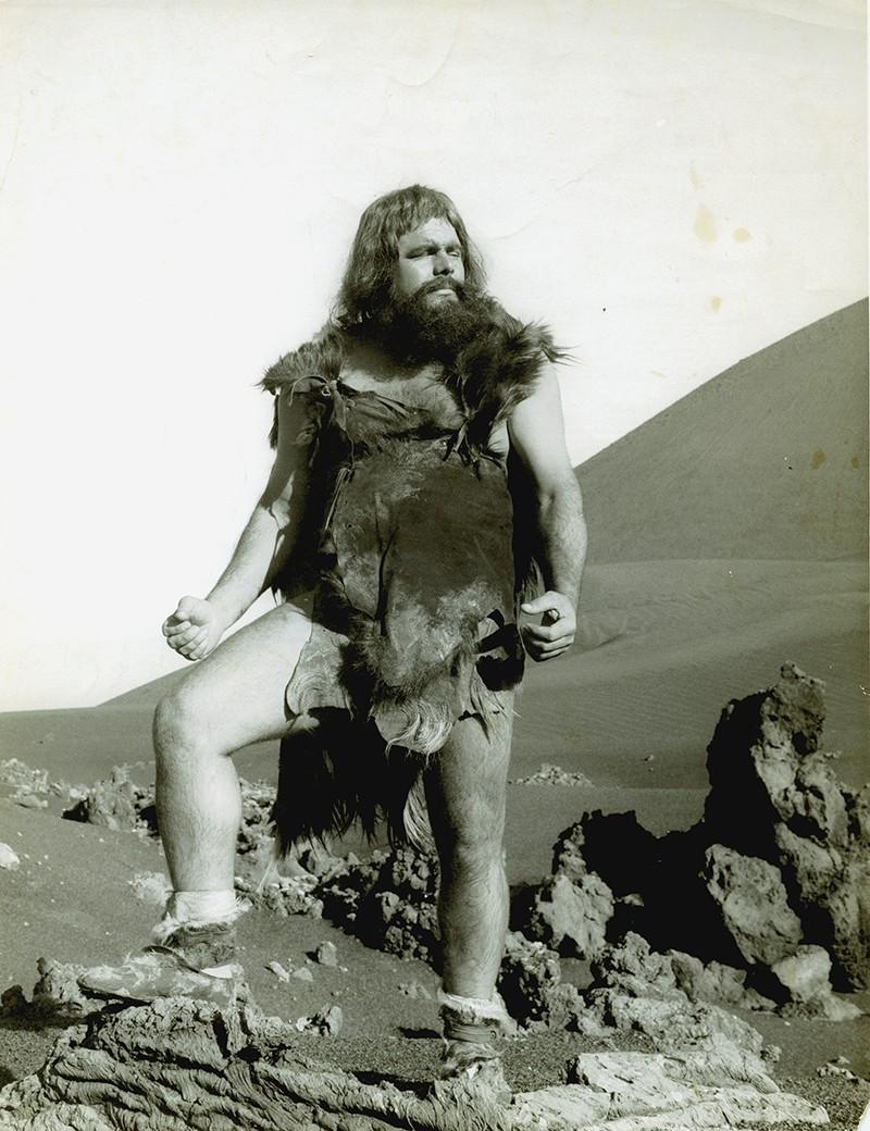 Heraclio Niz en Hace un millón de años