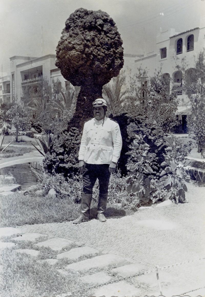 Heraclio Niz en el parque municipal II