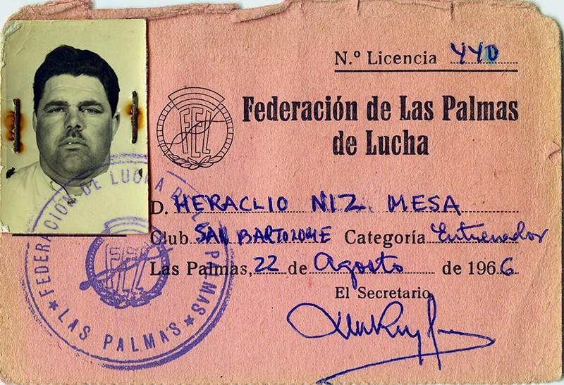 Ficha de Heraclio Niz