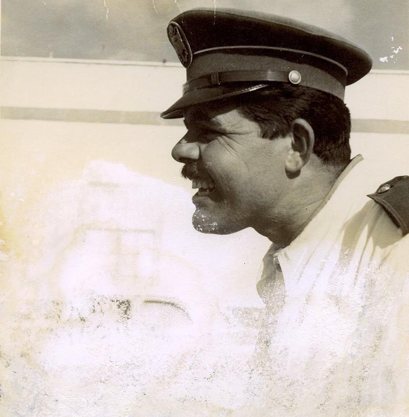 Retrato de Heraclio Niz como policía III