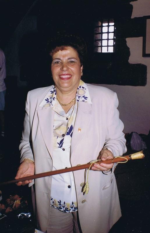 Toma de posesión de Sebastiana Perera