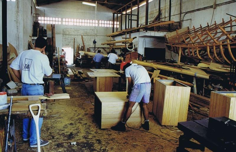Curso de carpintería de ribera I