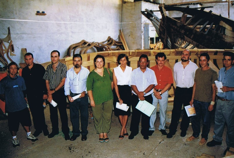 Curso de carpintería de ribera II