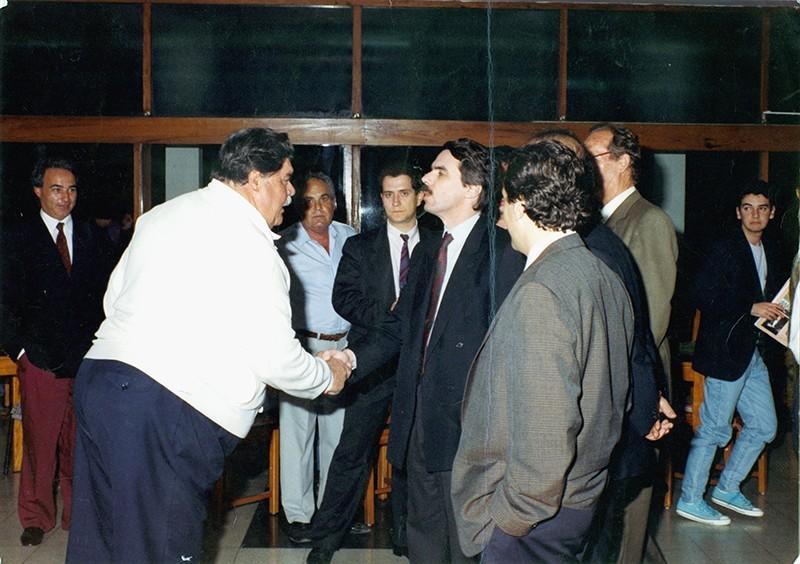 Heraclio Niz con José María Aznar