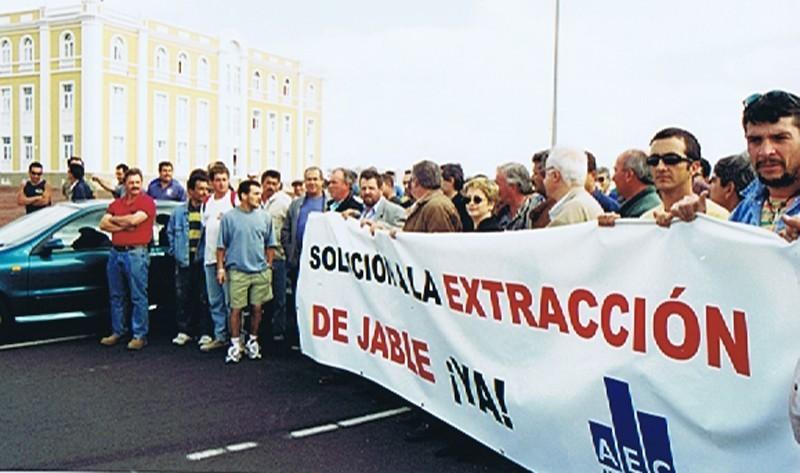 Manifestación del sector de la constucción y del transporte II