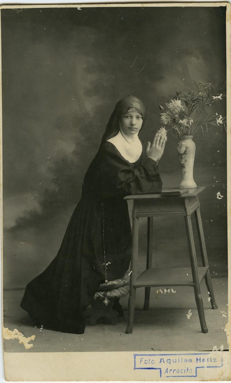 Retrato alumna de Margarita Martín II