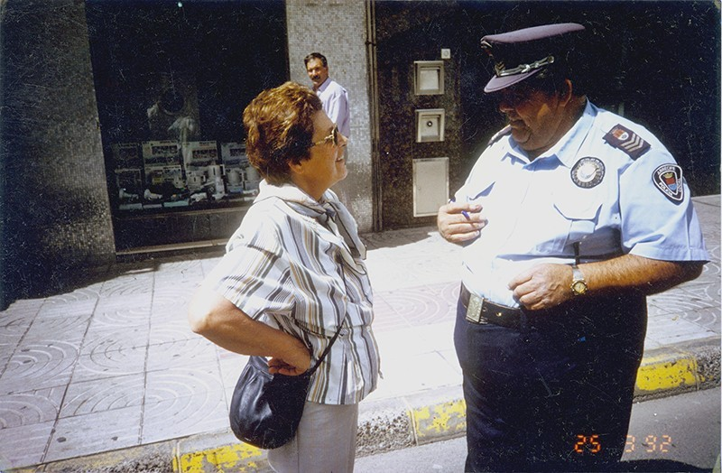 Heraclio Niz en la calle Real IV