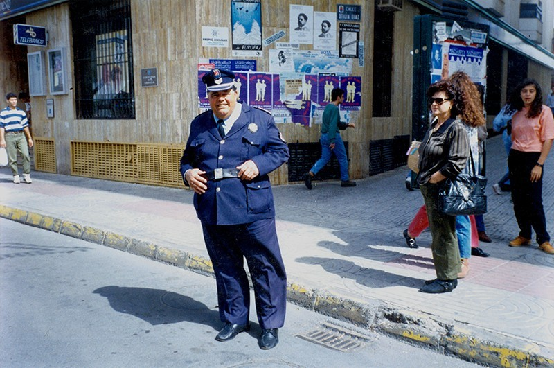 Heraclio Niz en la calle Real VI