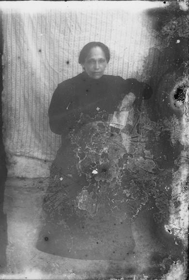 Retrato de mujer de luto
