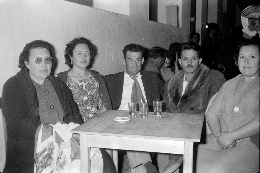 Familia en una fiesta