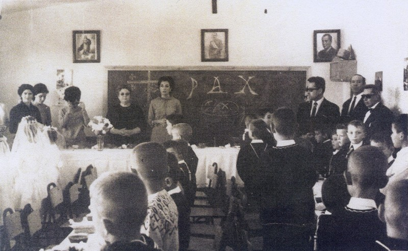 Agrupación escolar mixta de San Bartolomé 1966/1967